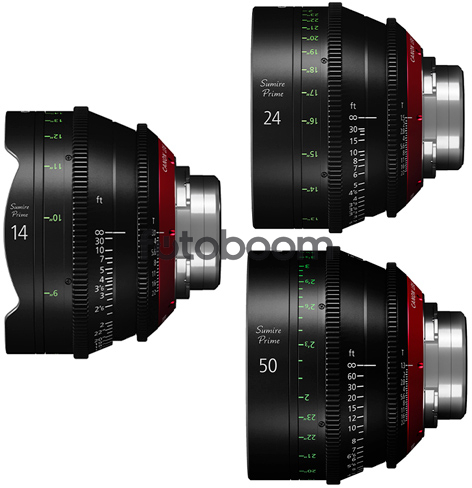 KIT 14mm/24mm/50mm (EF)
