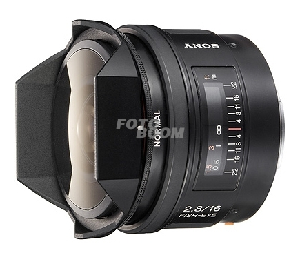 16mm f/2.8 Fisheye