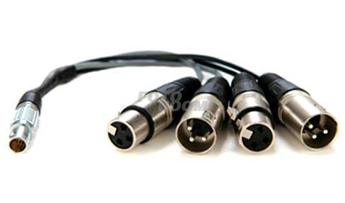 Lemo a XLR Breakoutcable