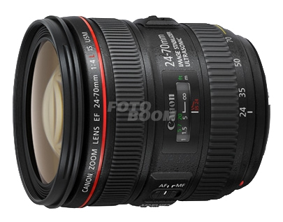 24-70mm f/4L IS USM EF + 75E Bonificación Canon Estudiantes