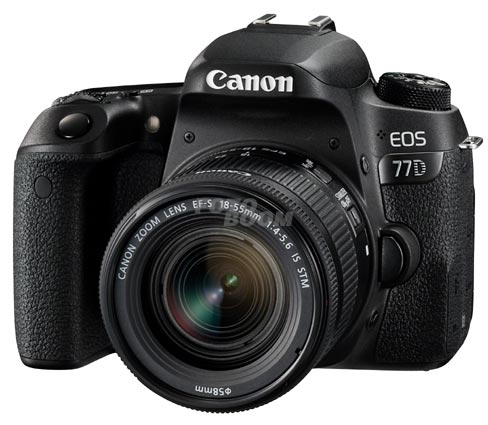 EOS 77D + 18-55mm f/4-5,6 IS STM + Regalo Kit Video Blogging