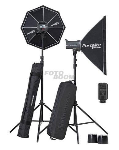 KIT BRX 500/500 Softbox TO GO