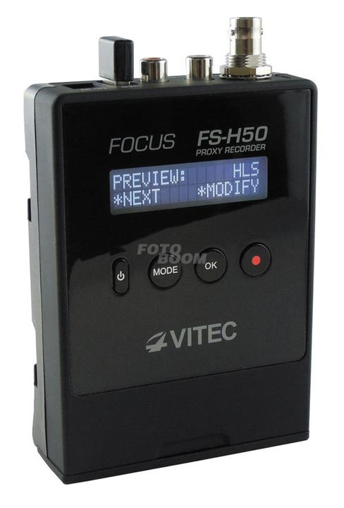VITEC FS-H50 with Wi-Fi connectivity Option