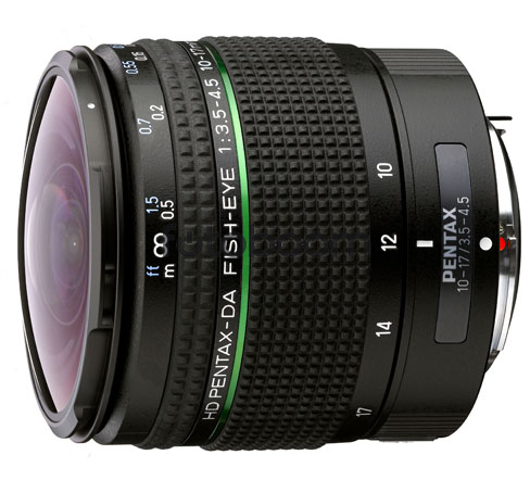 10-17mm f/3.5-4.5 ED HD DA