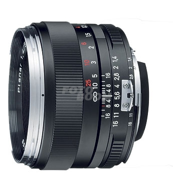 50mm f/1,4 ZE Planar T Canon