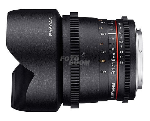 10mm t/3.1 VDSLR ED AS NCS CSII Sony A