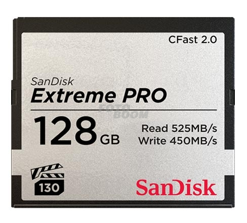 CFast 2.0 EXTREME Pro 128Gb 525Mb/s