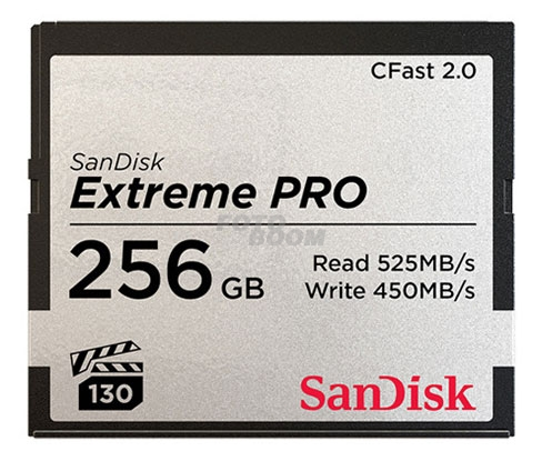 CFast 2.0 EXTREME Pro 256Gb 525Mb/s