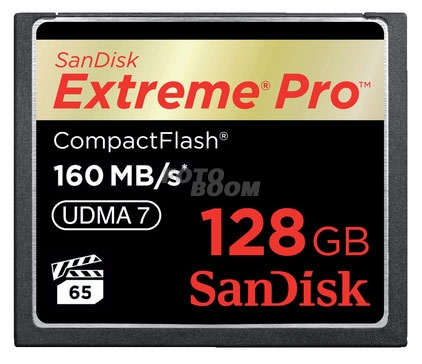 CompactFlash EXTREME Pro 128Gb 160Mb/s