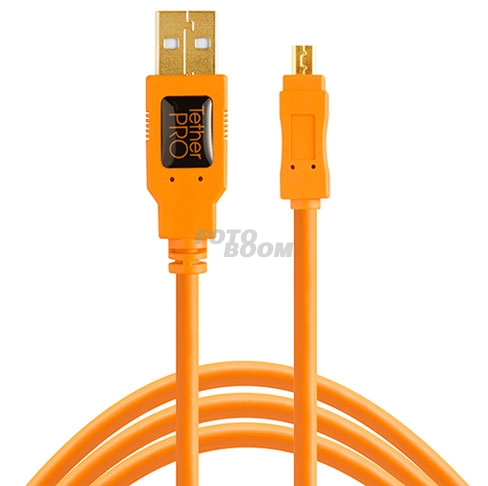 TetherPro USB 2.0 a Mini-B 8-Pin 30cm