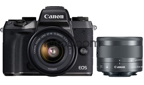 EOS M50 Negra + 15-45mm f/3.5-6.3 IS STM-ODTG-