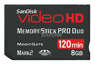 SanDisk Video HD Memory Stick PRO Duo 8GB